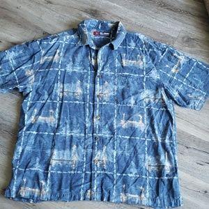 Reel Legends Fishing Button Up Shirt